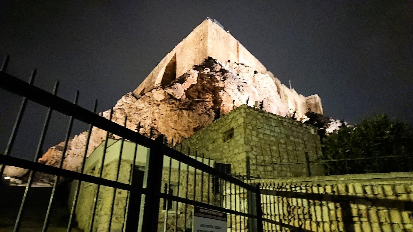 アテネの中心地アクロポリス周辺の様子