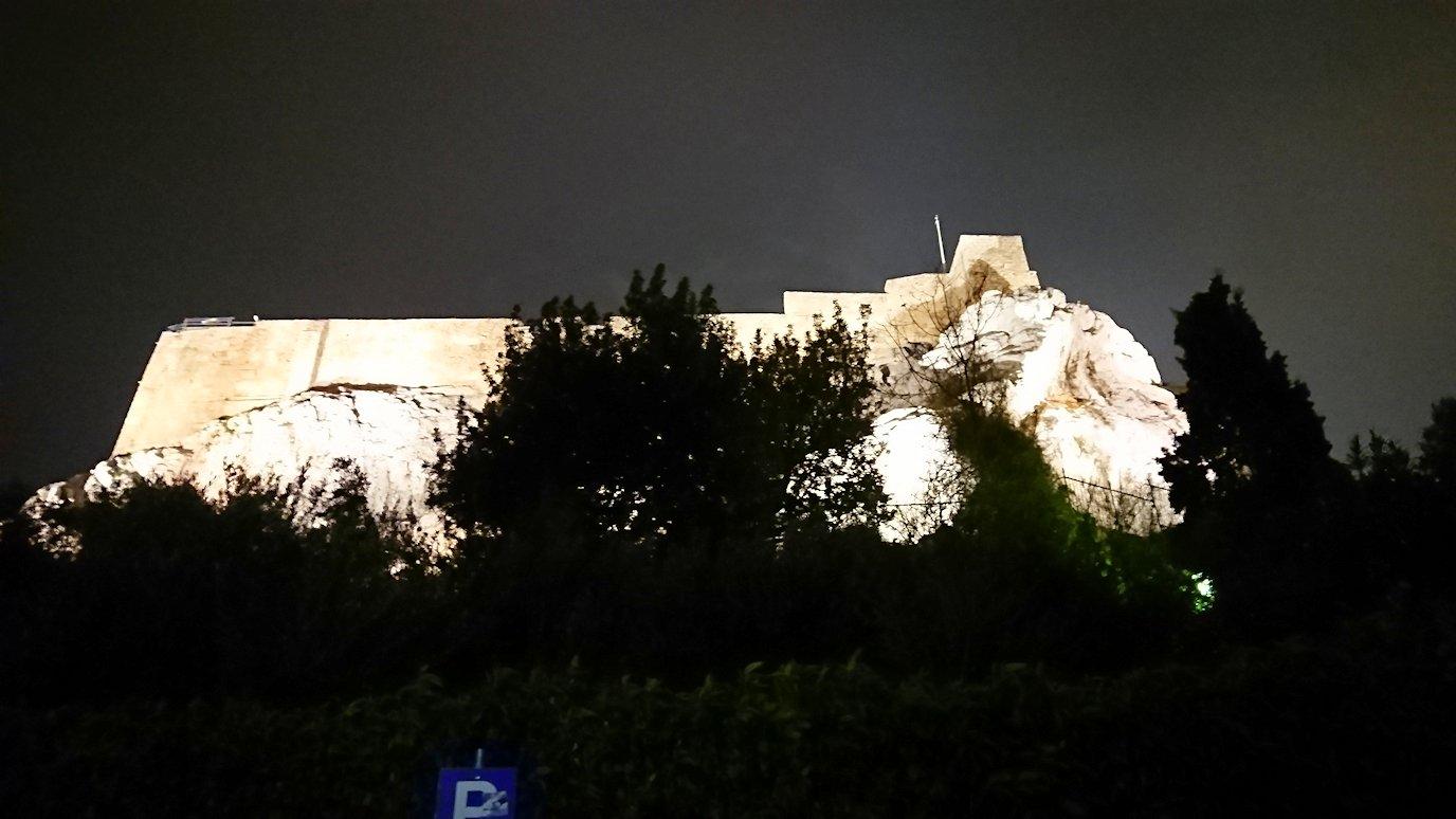 アテネの中心地アクロポリス周辺の様子2