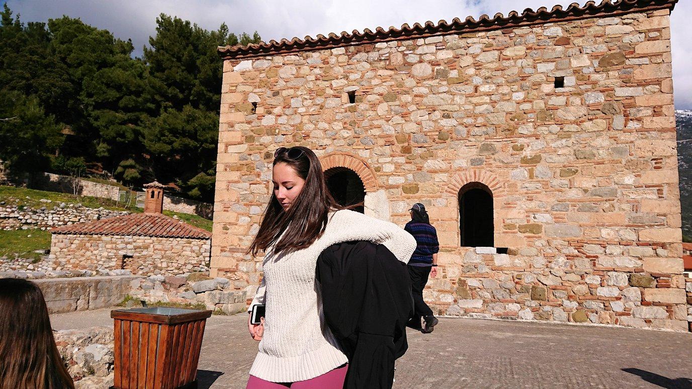 オシオス・ルカス修道院の見晴らしのいい場所の様子3