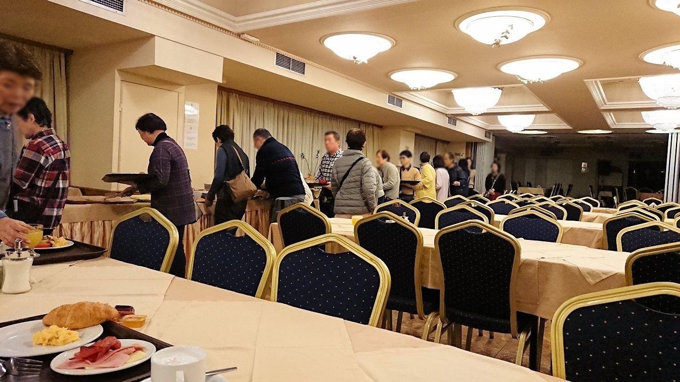 アテネのオスカーホテルでの朝食会場の様子2