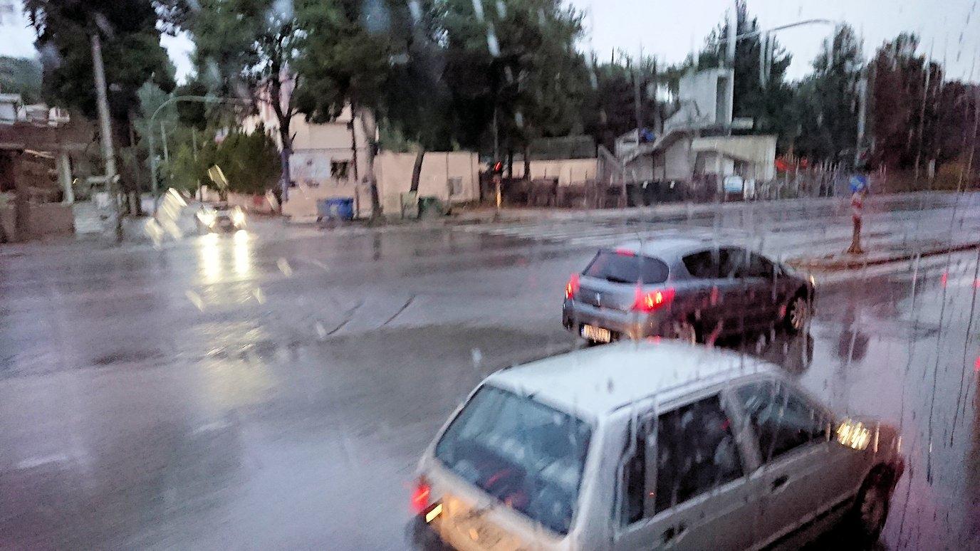 アテネのオスカーホテルを出発し道中の様子