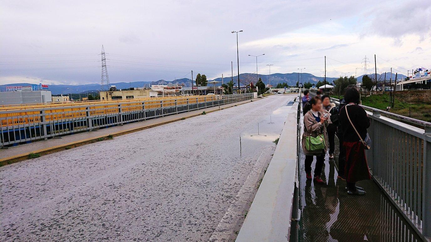 ギリシャのコリントス運河の眺め6