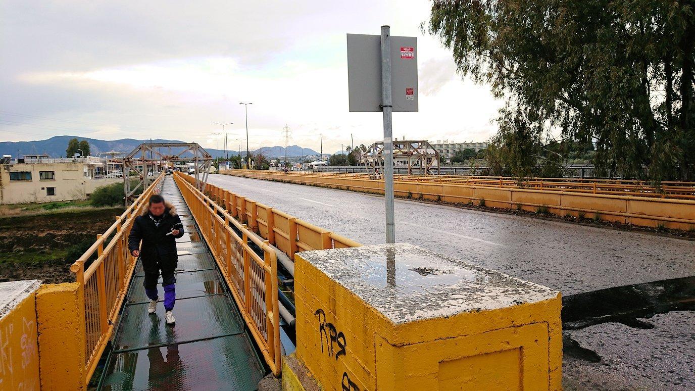 ギリシャのコリントス運河の様子3