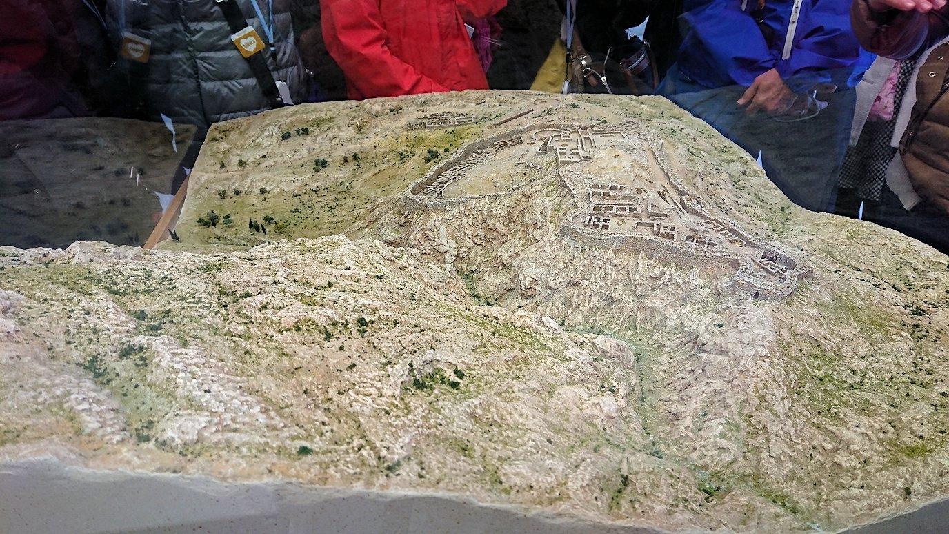 ミケーネの古代遺跡の博物館にある遺跡の模型2