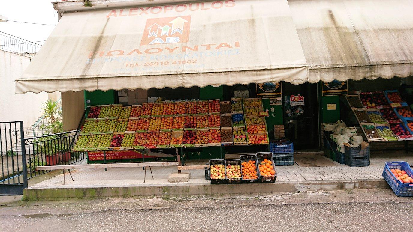 ギリシャのディアコフトのレストランの周辺2