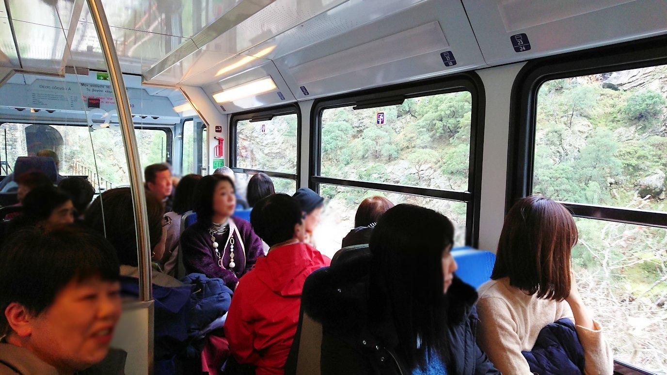 オドンドトス登山鉄道列車から見える絶景の写真3