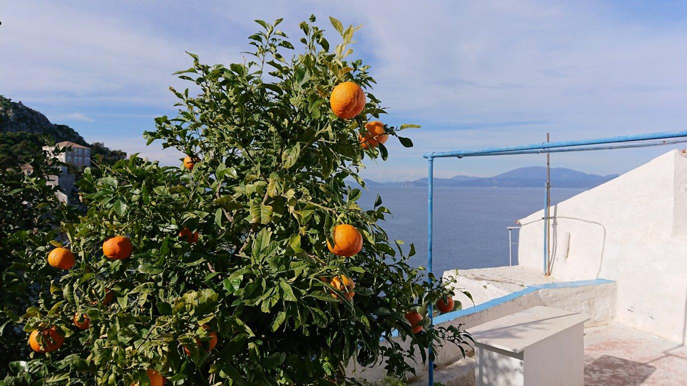 エーゲ海のイドラ島でとりあえず高い場所に進む2