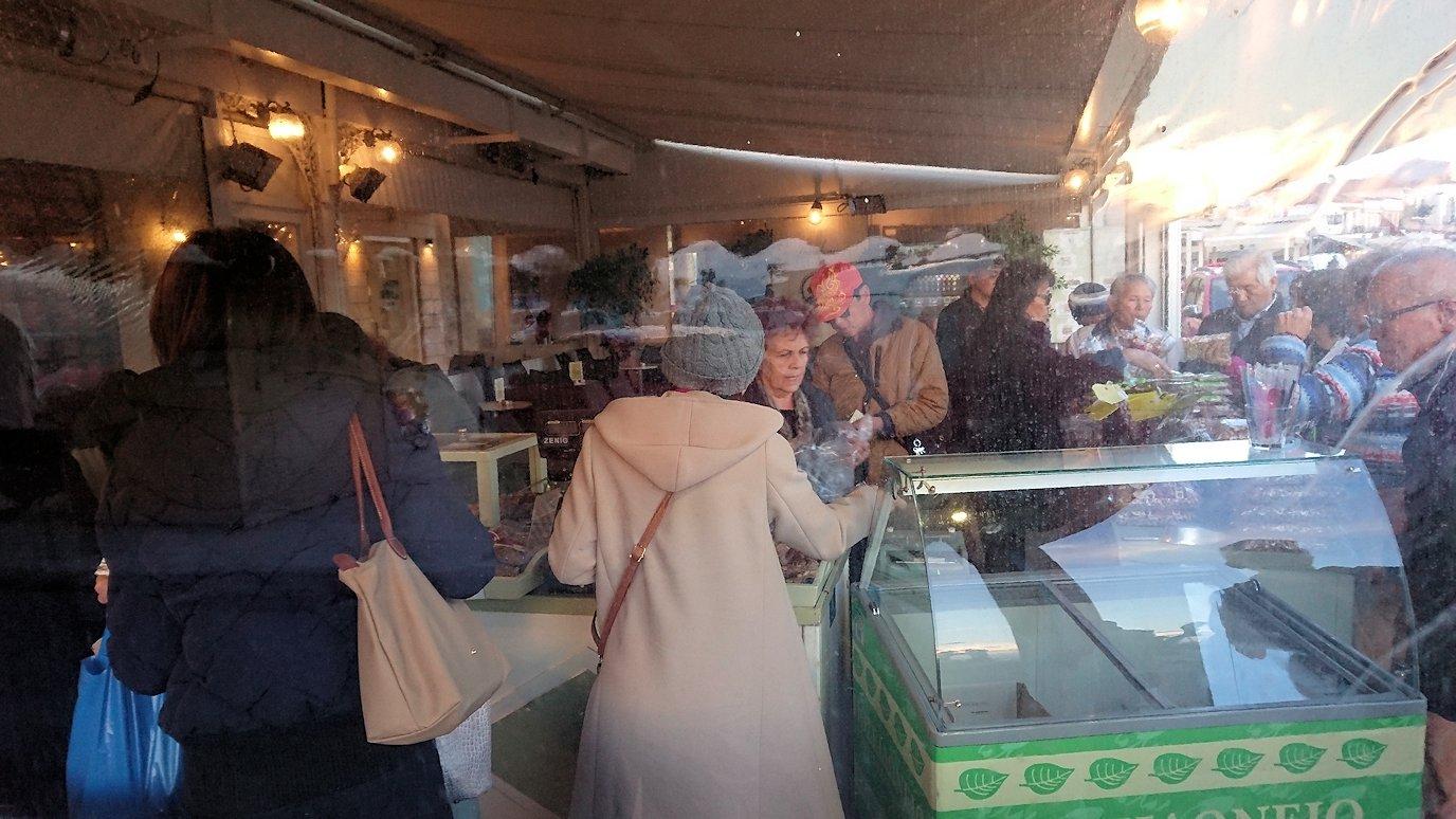 エギナ島のピスタチオの店を見学4