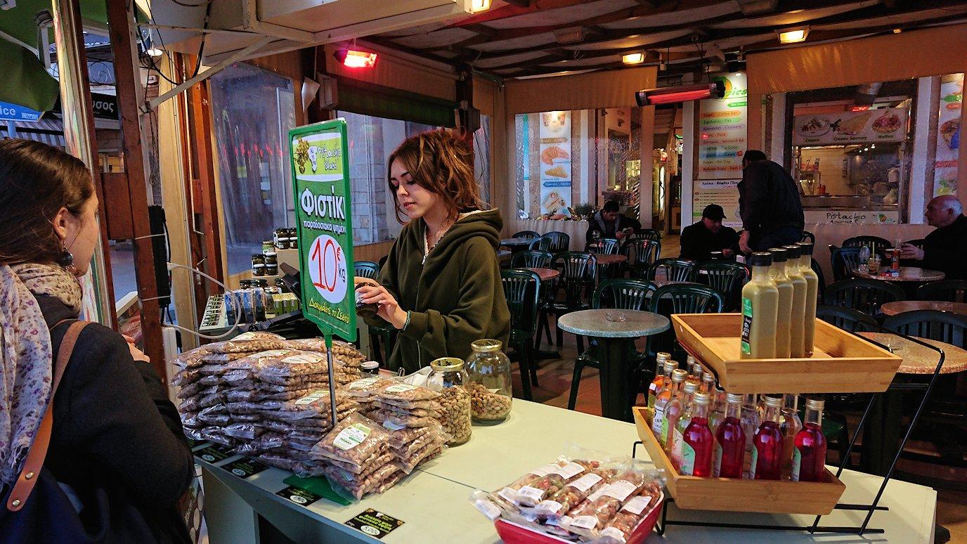 エギナ島のピスタチオの店を更に見てみる2