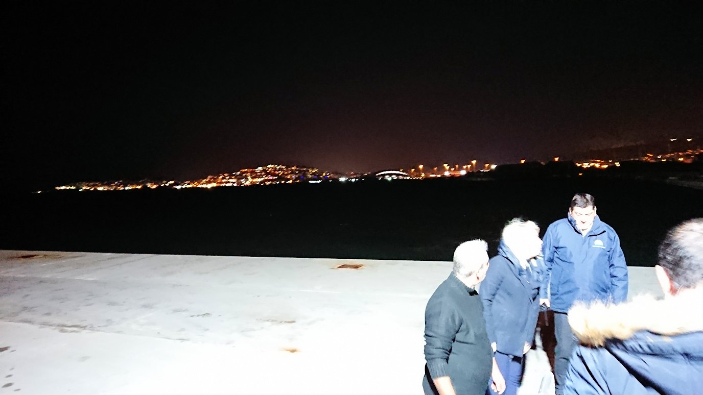 エーゲ海クルーズも終了し、アテネの港に帰還