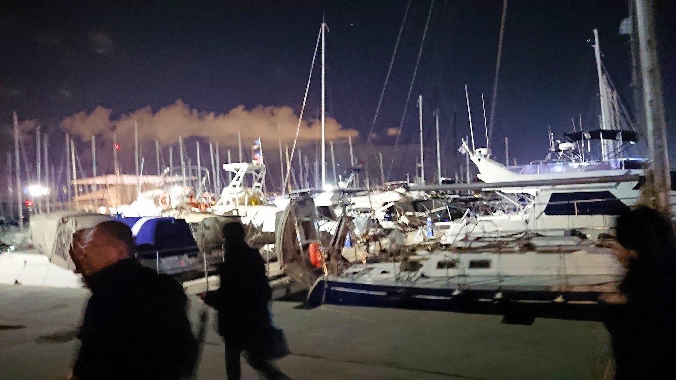 エーゲ海クルーズも終了し、アテネの港に帰還4