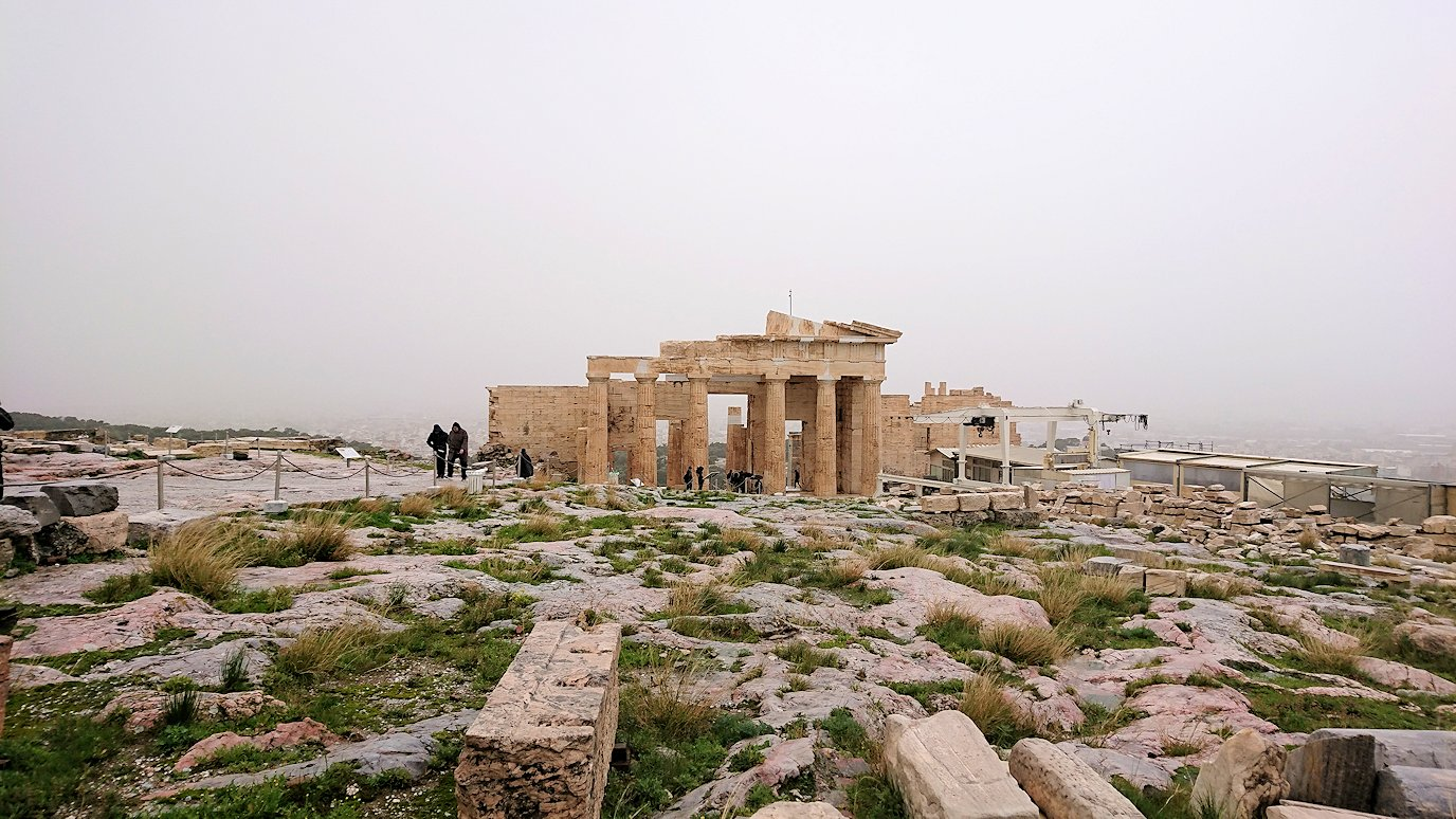 ギリシャのパルテノン神殿の様子3