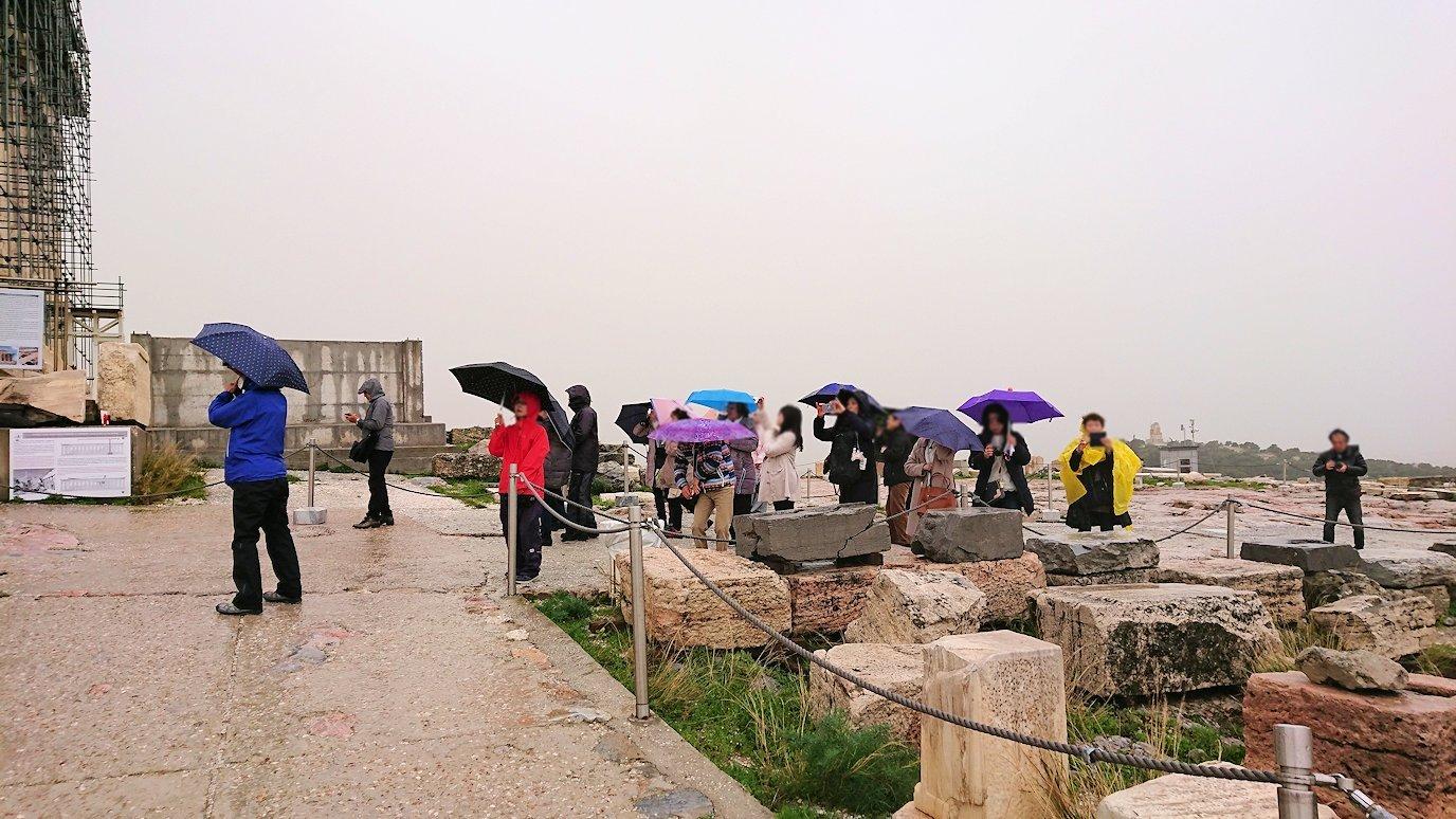 ギリシャのパルテノン神殿の様子4