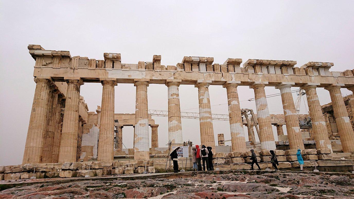 ギリシャのパルテノン神殿の様子7