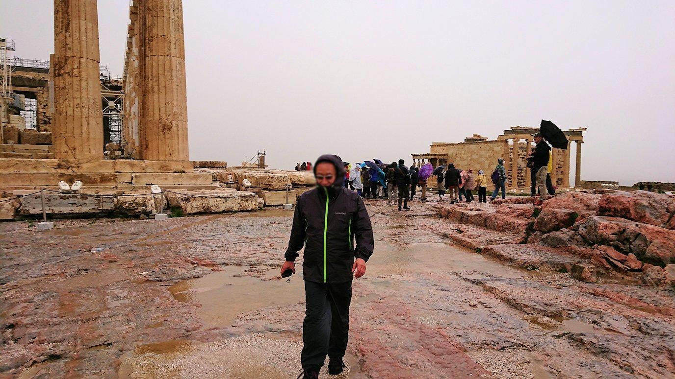 ギリシャのパルテノン神殿付近の景色4