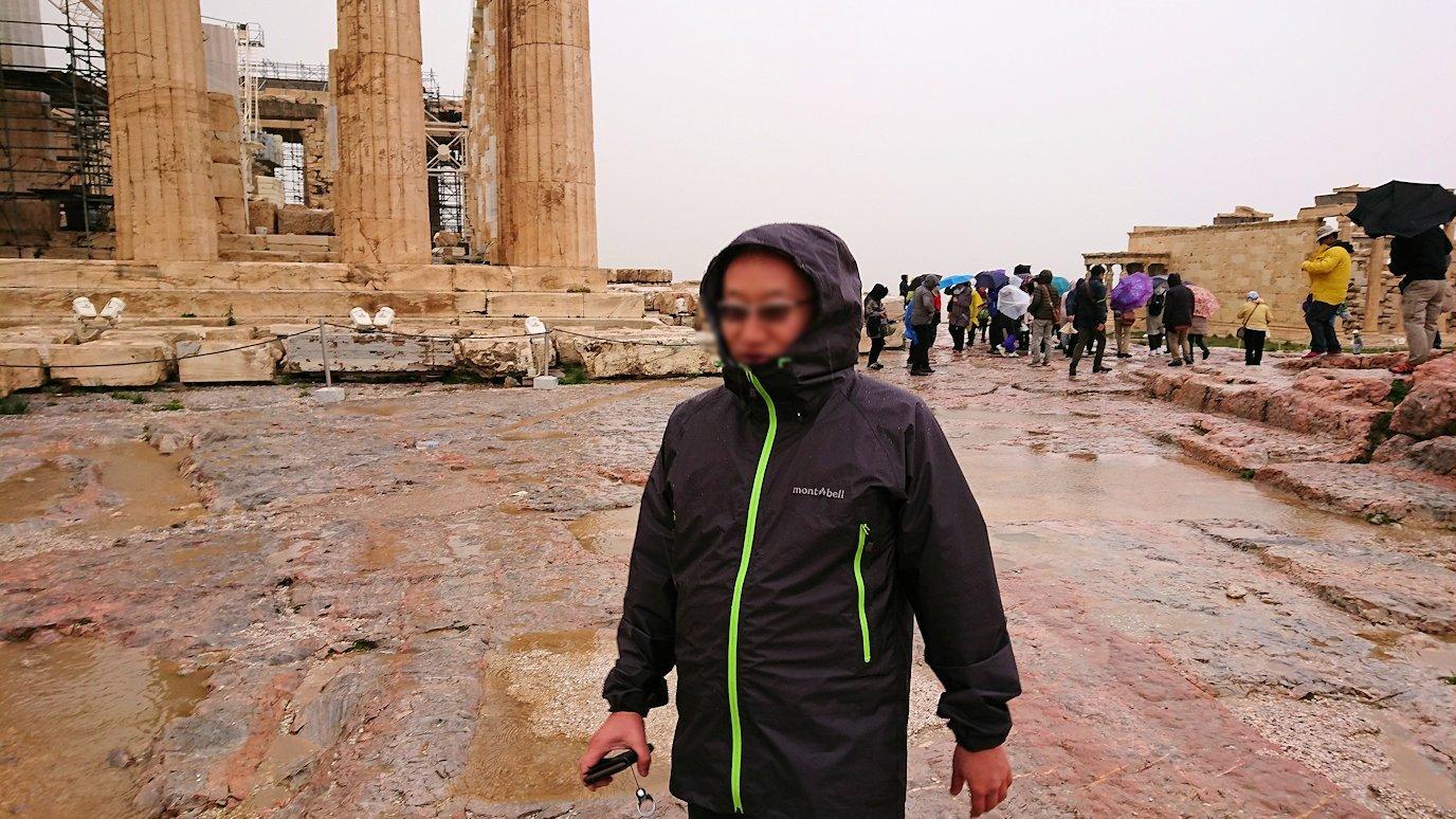 ギリシャのパルテノン神殿付近の景色5