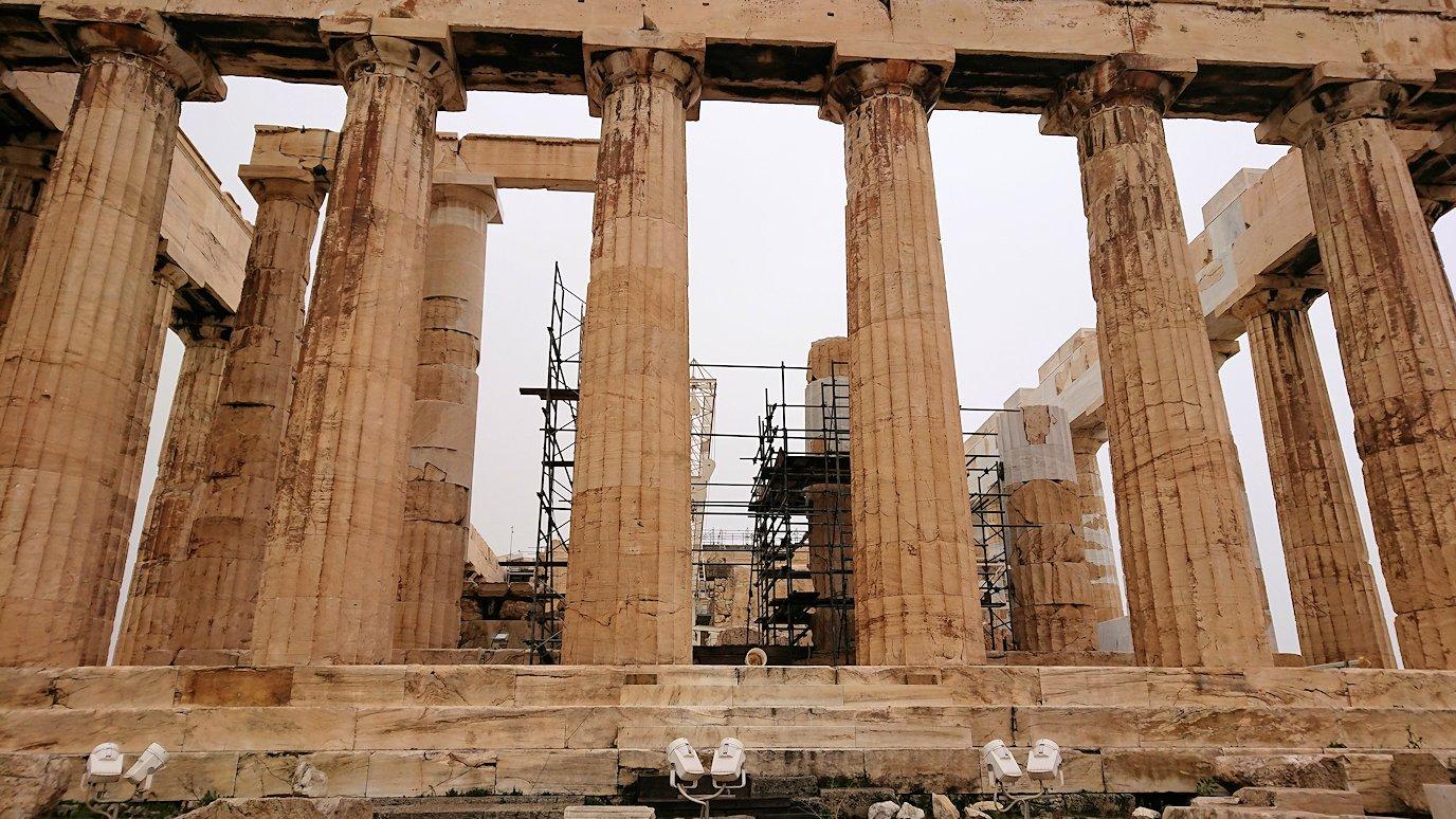 ギリシャのパルテノン神殿付近の景色7