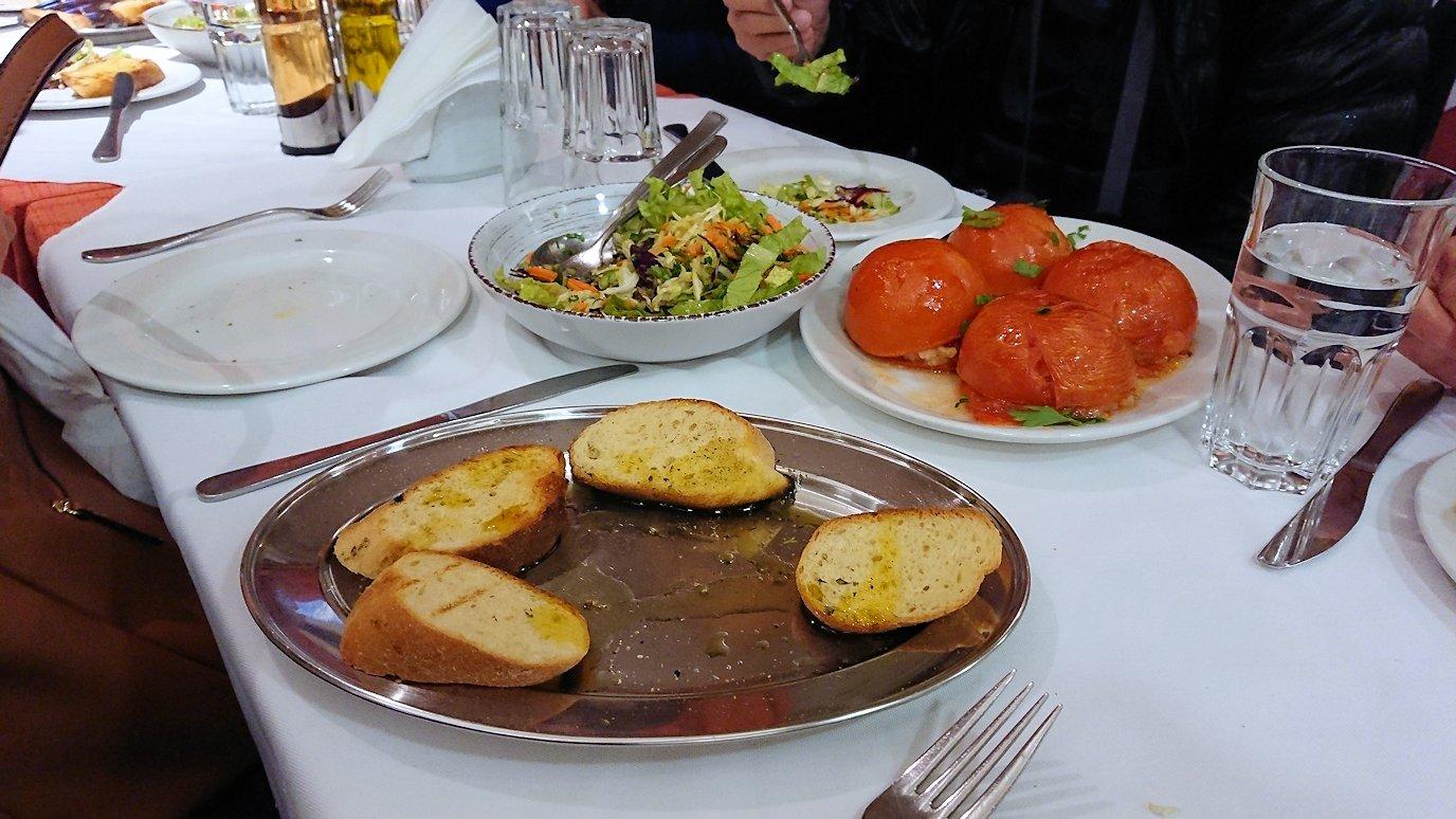 アテネ市内のレストランAcropol,の昼食4
