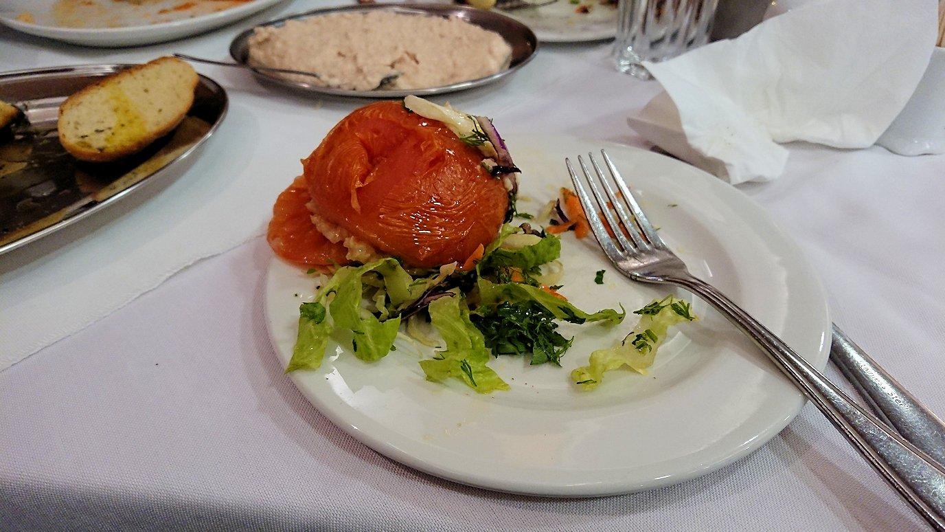 アテネ市内のレストランAcropol,の昼食8