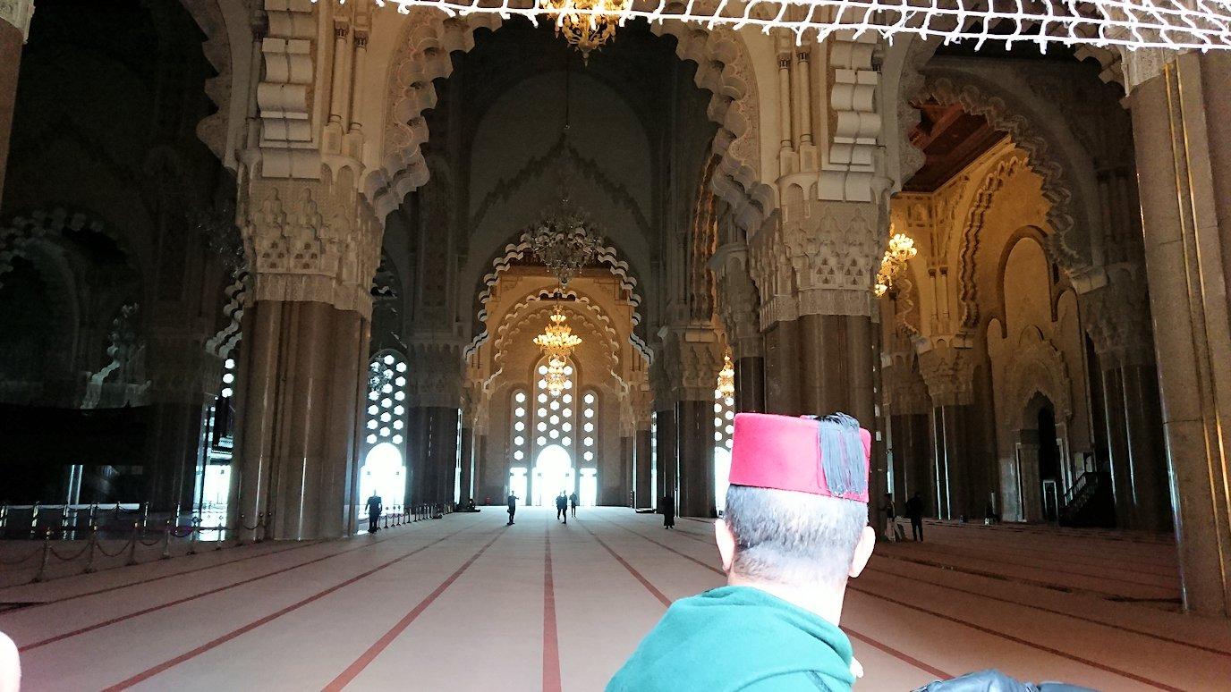 カサブランカのハッサン2世モスクの敷地内の礼拝堂