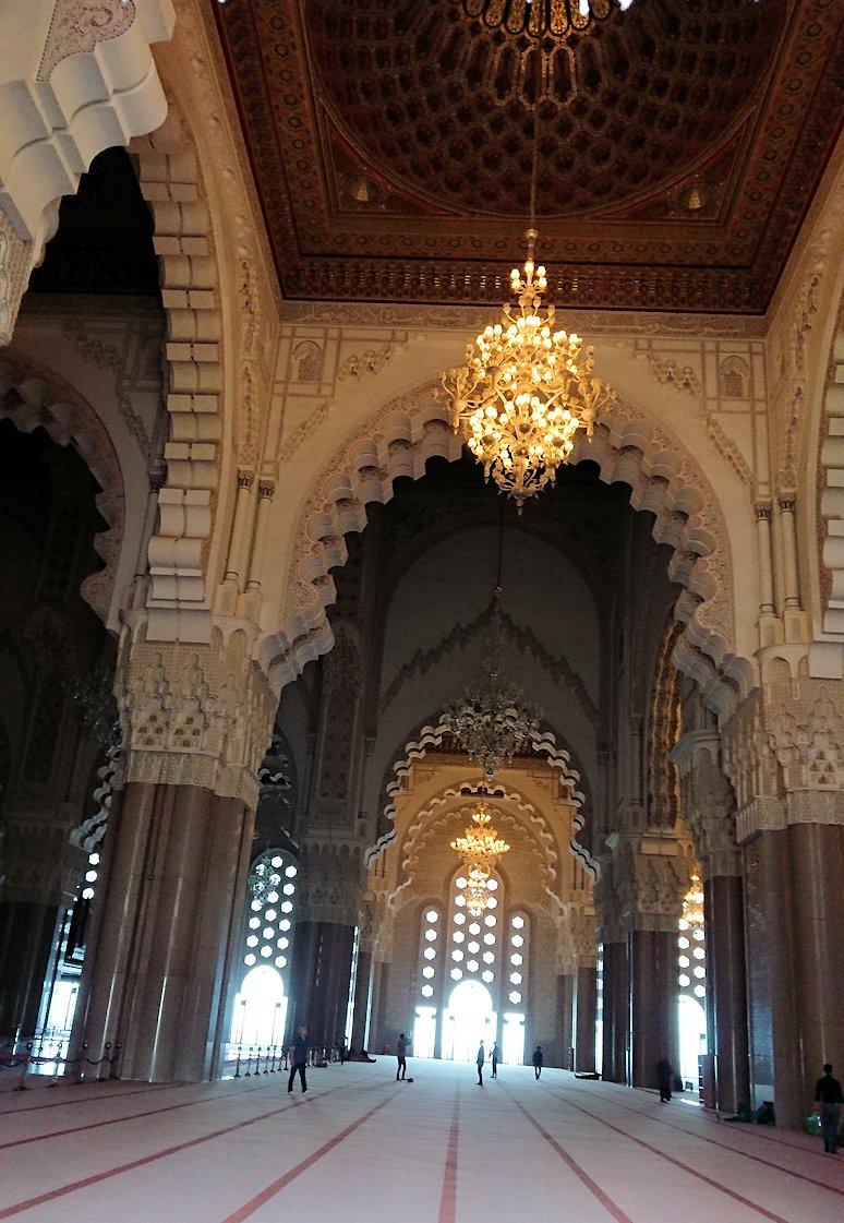 カサブランカのハッサン2世モスクの敷地内の礼拝堂2