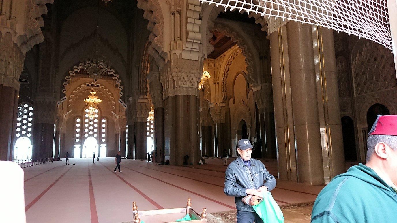 カサブランカのハッサン2世モスクの敷地内の礼拝堂3