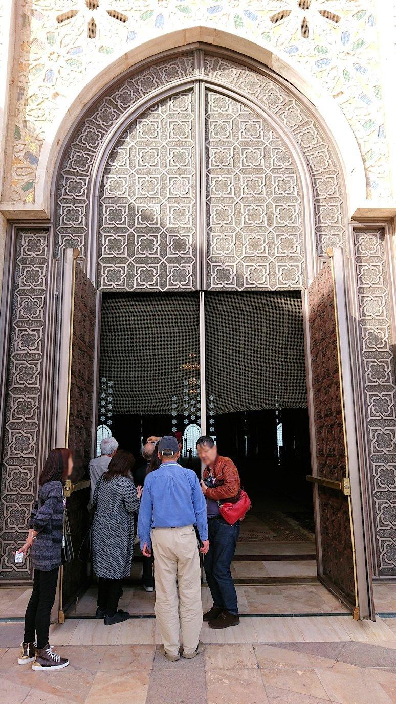 カサブランカのハッサン2世モスクの敷地内の礼拝堂4