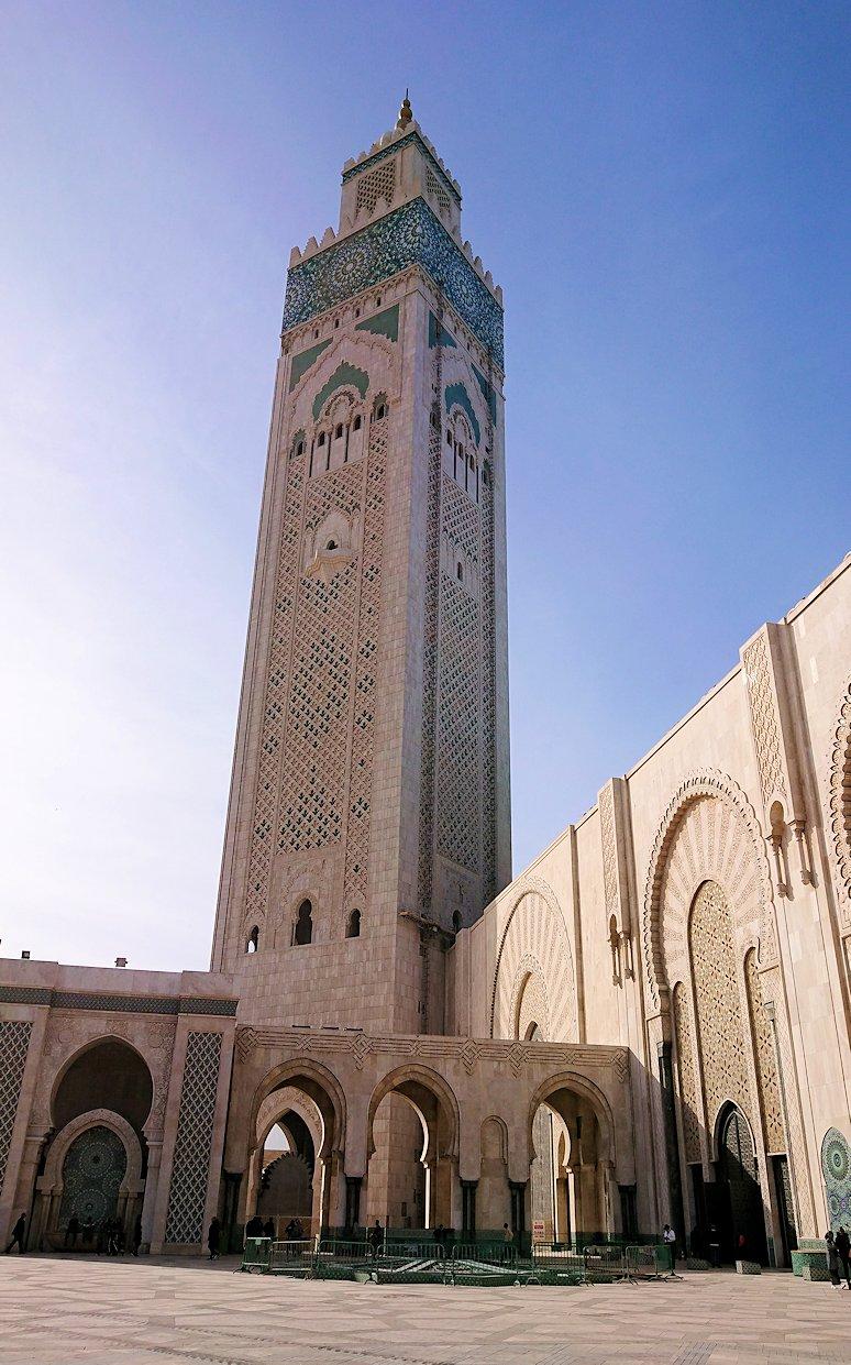 カサブランカのハッサン2世モスクの建物の様子3