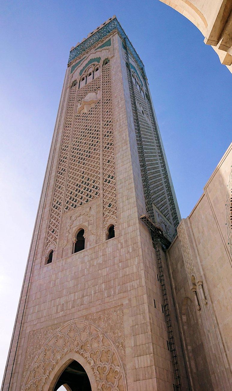 カサブランカのハッサン2世モスクの建物の様子4