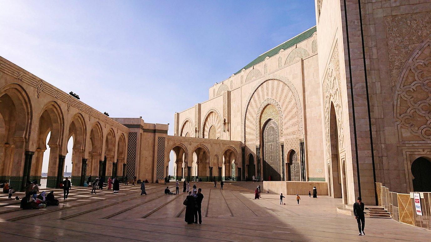 カサブランカのハッサン2世モスクの建物の様子5