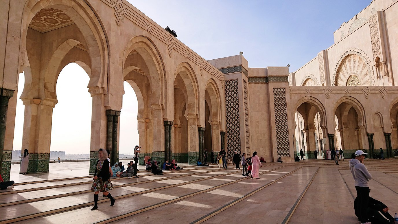 カサブランカのハッサン2世モスクの建物の様子6