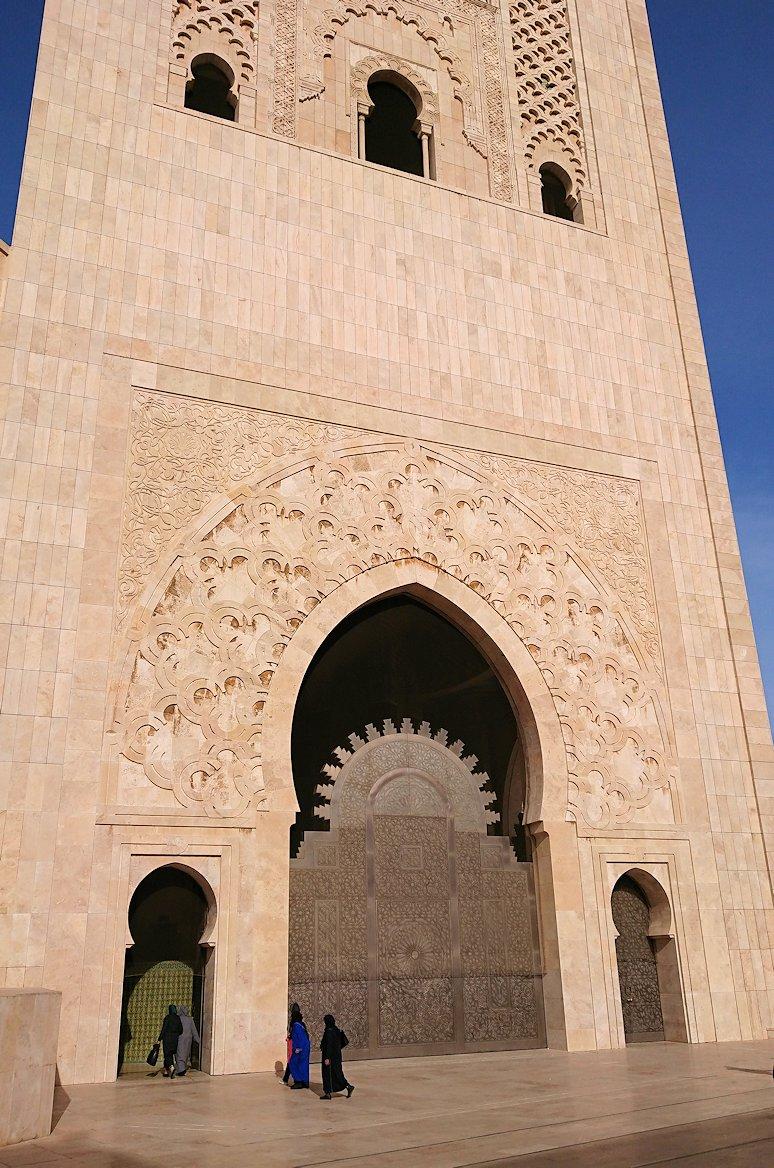 カサブランカのハッサン2世モスクを眺めてみる