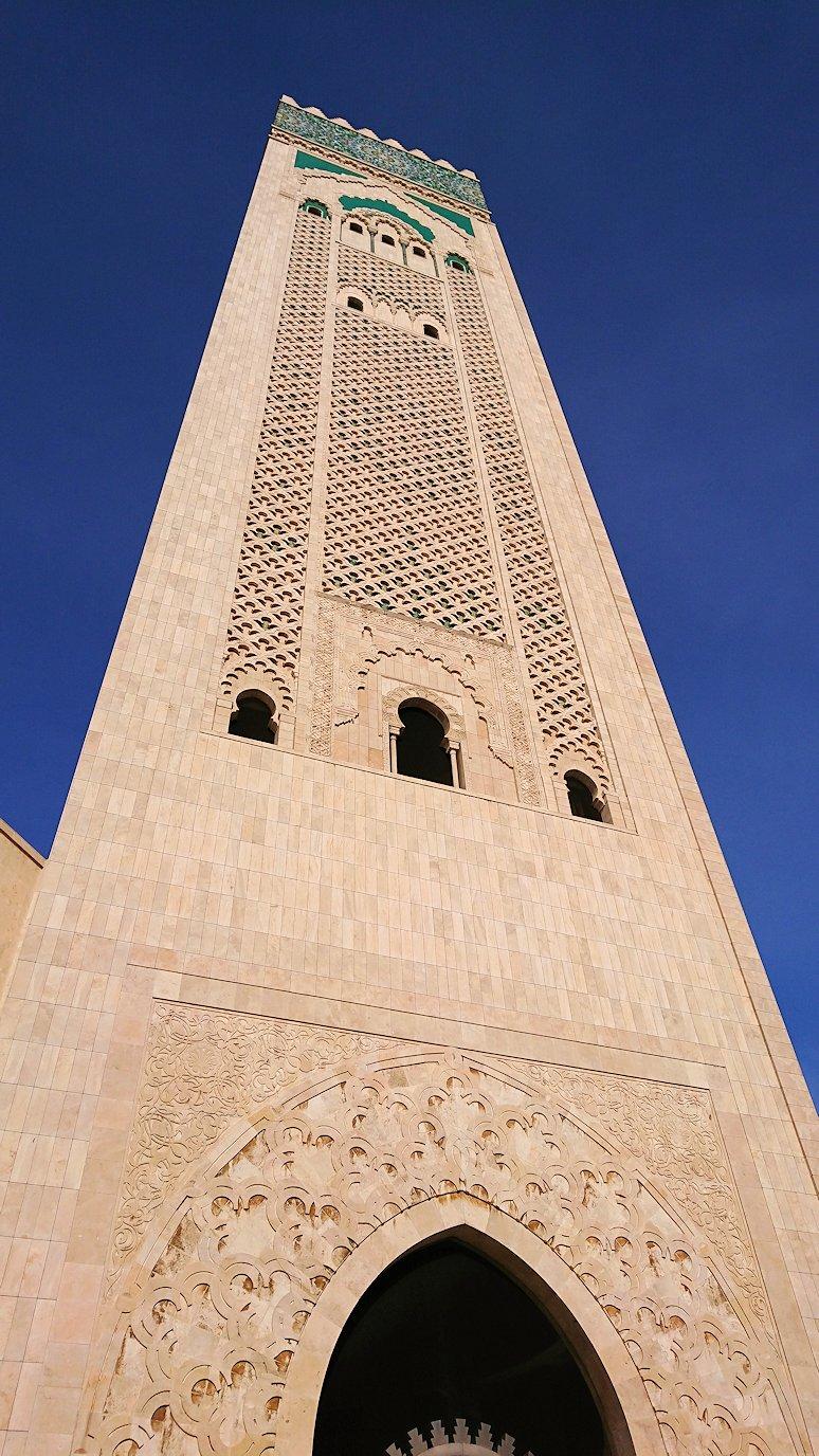 カサブランカのハッサン2世モスクを眺めてみる2