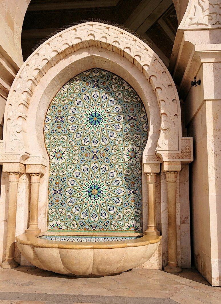 カサブランカのハッサン2世モスクを眺めてみる4