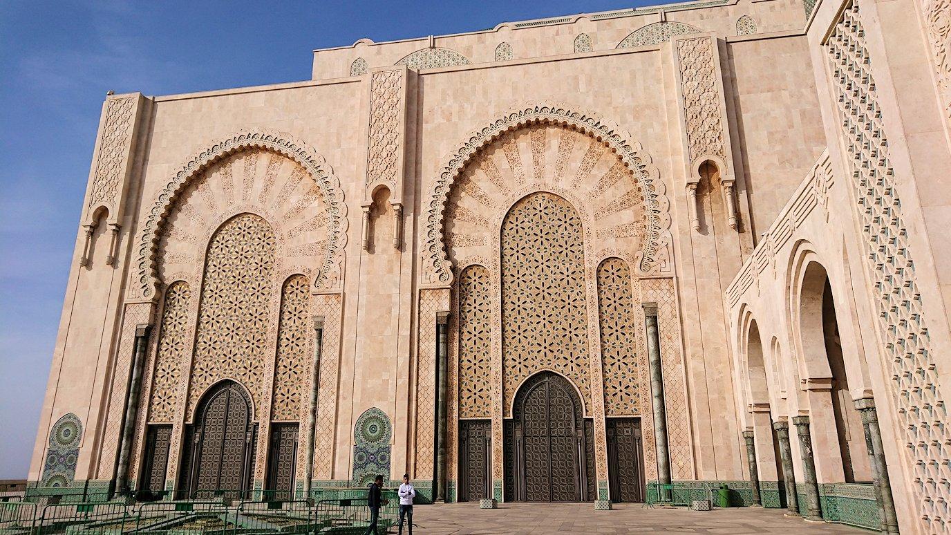 カサブランカのハッサン2世モスクを眺めてみる5