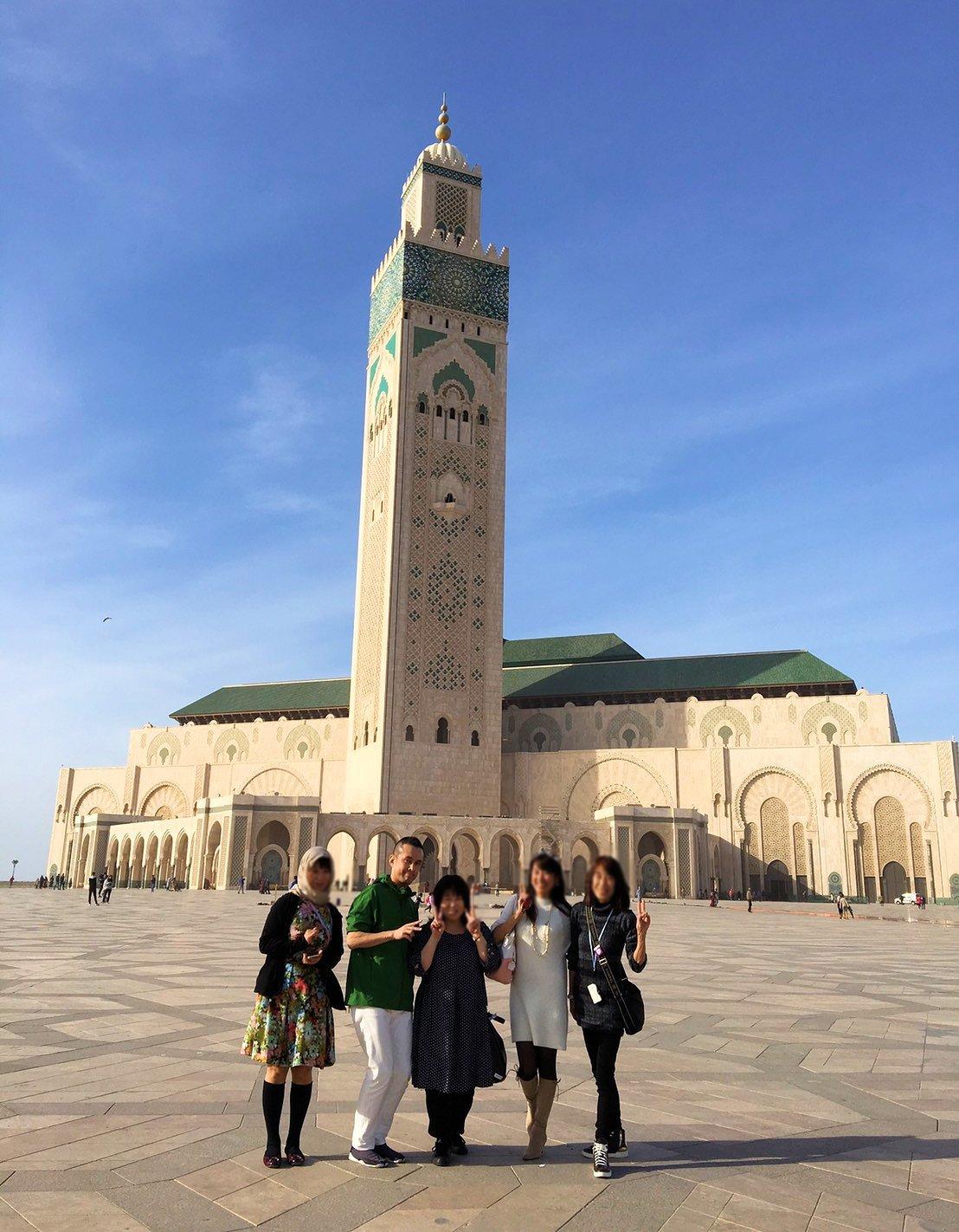 カサブランカのハッサン2世モスクを満喫する3
