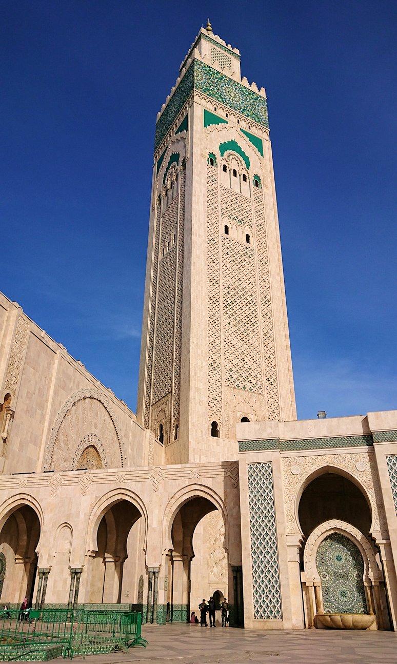 カサブランカのハッサン2世モスクを満喫する2