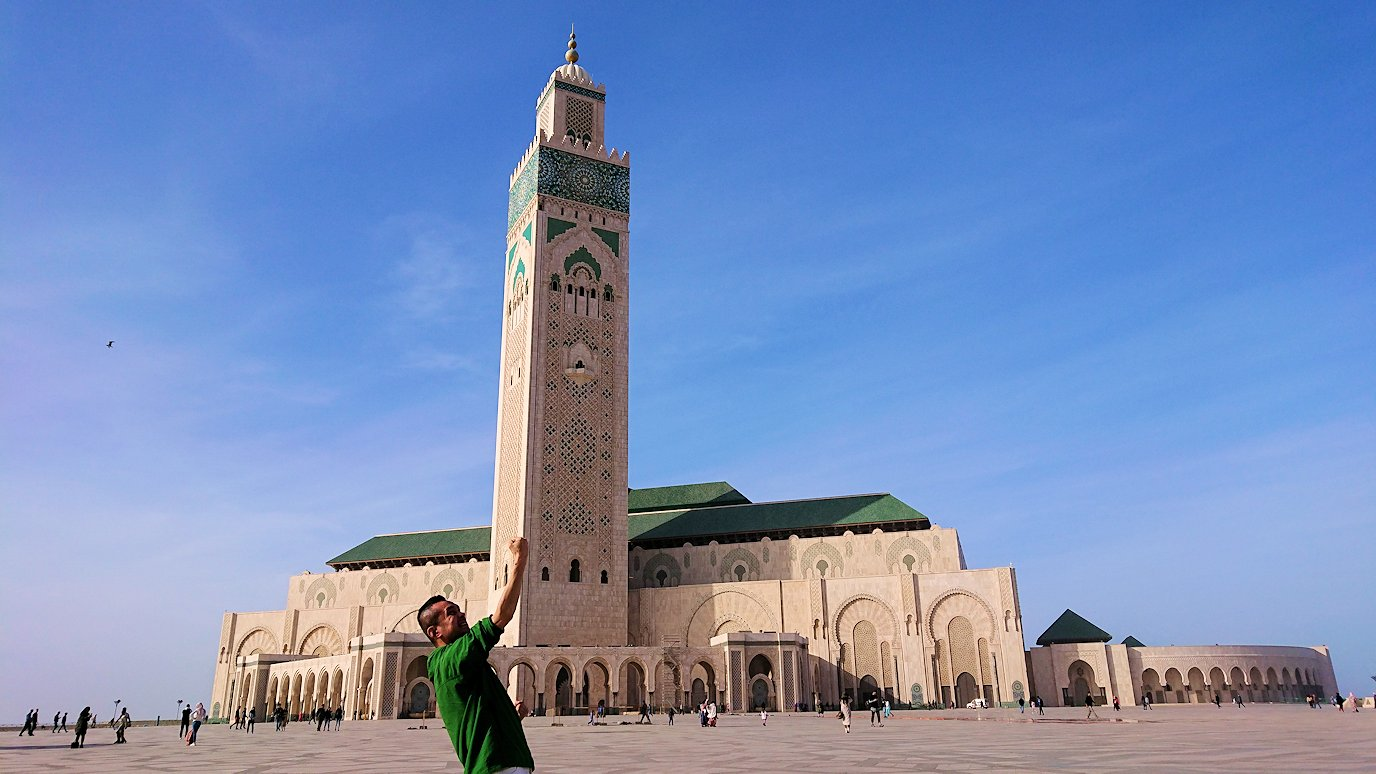 カサブランカのハッサン2世モスクを満喫する5