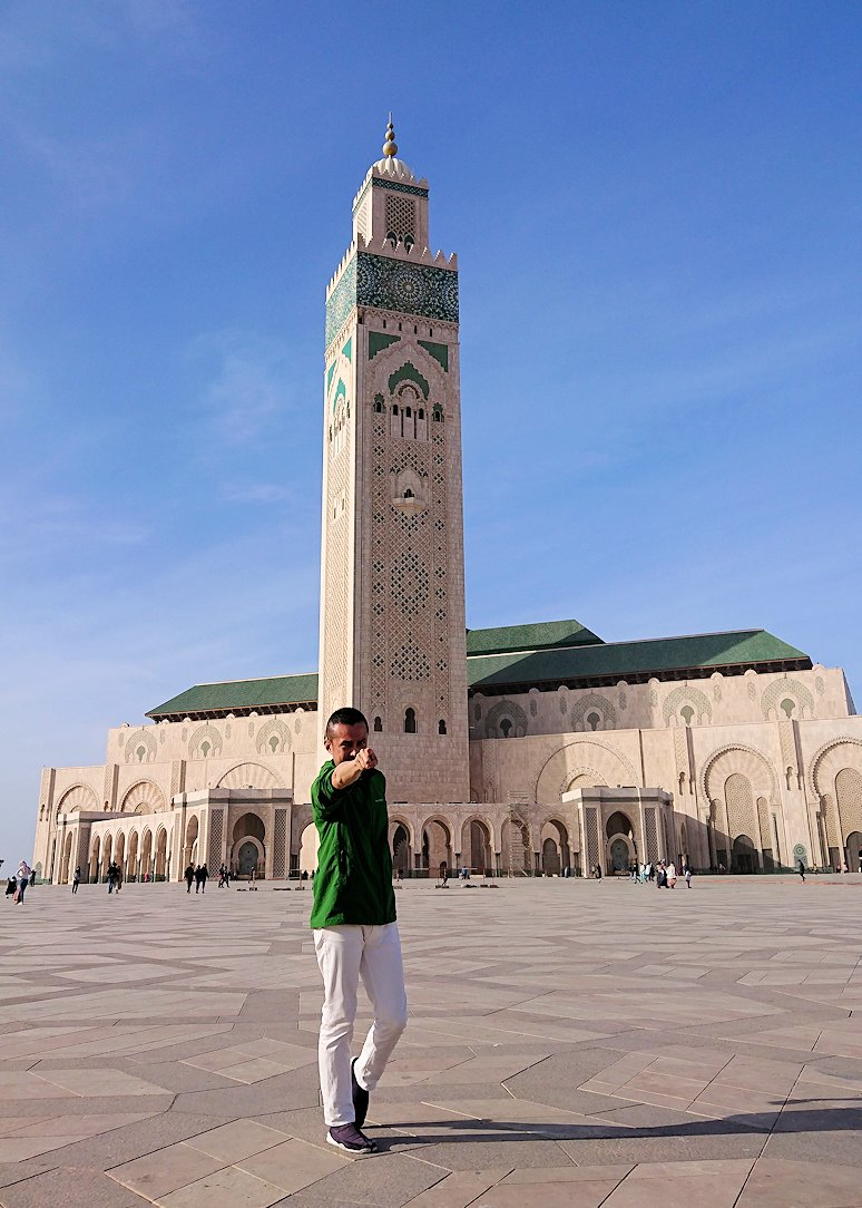 カサブランカのハッサン2世モスクを満喫する6