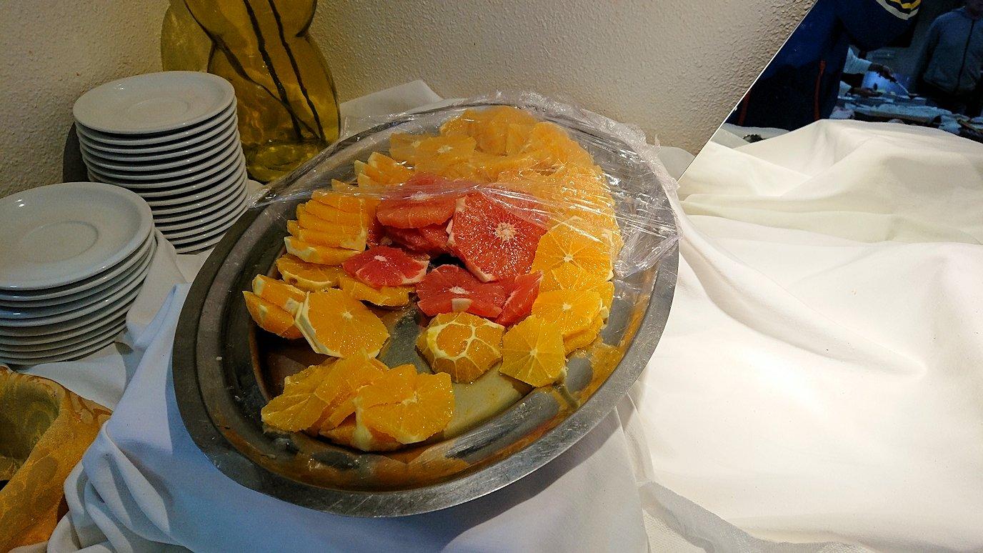 ラバトのホテルにて朝食をいただきます4