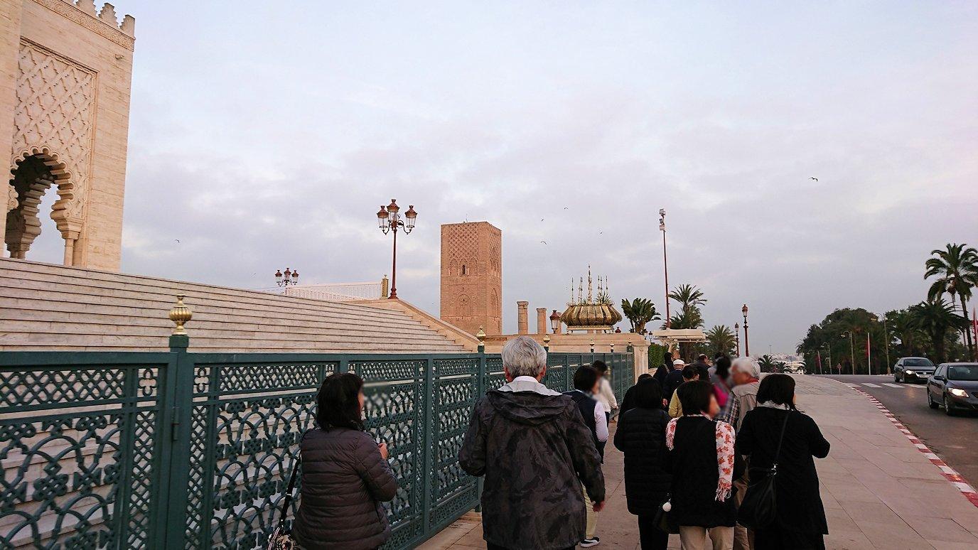 ラバトのムハンマド5世霊廟に向かう2