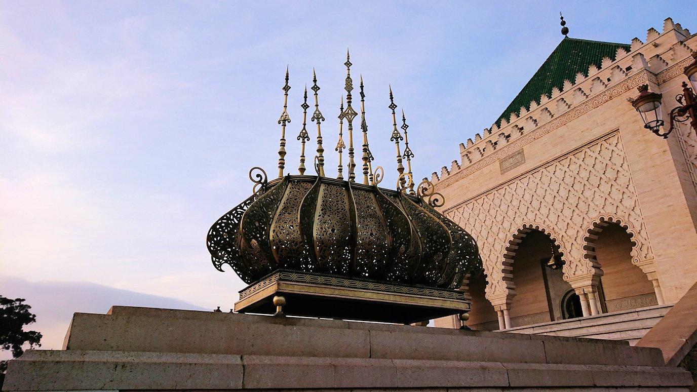 ラバトのムハンマド5世霊廟がやっと入れるみたいなので移動4