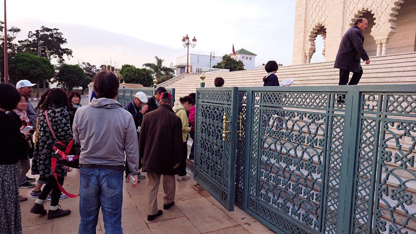 ラバトのムハンマド5世霊廟がやっと入れるみたいなので移動5