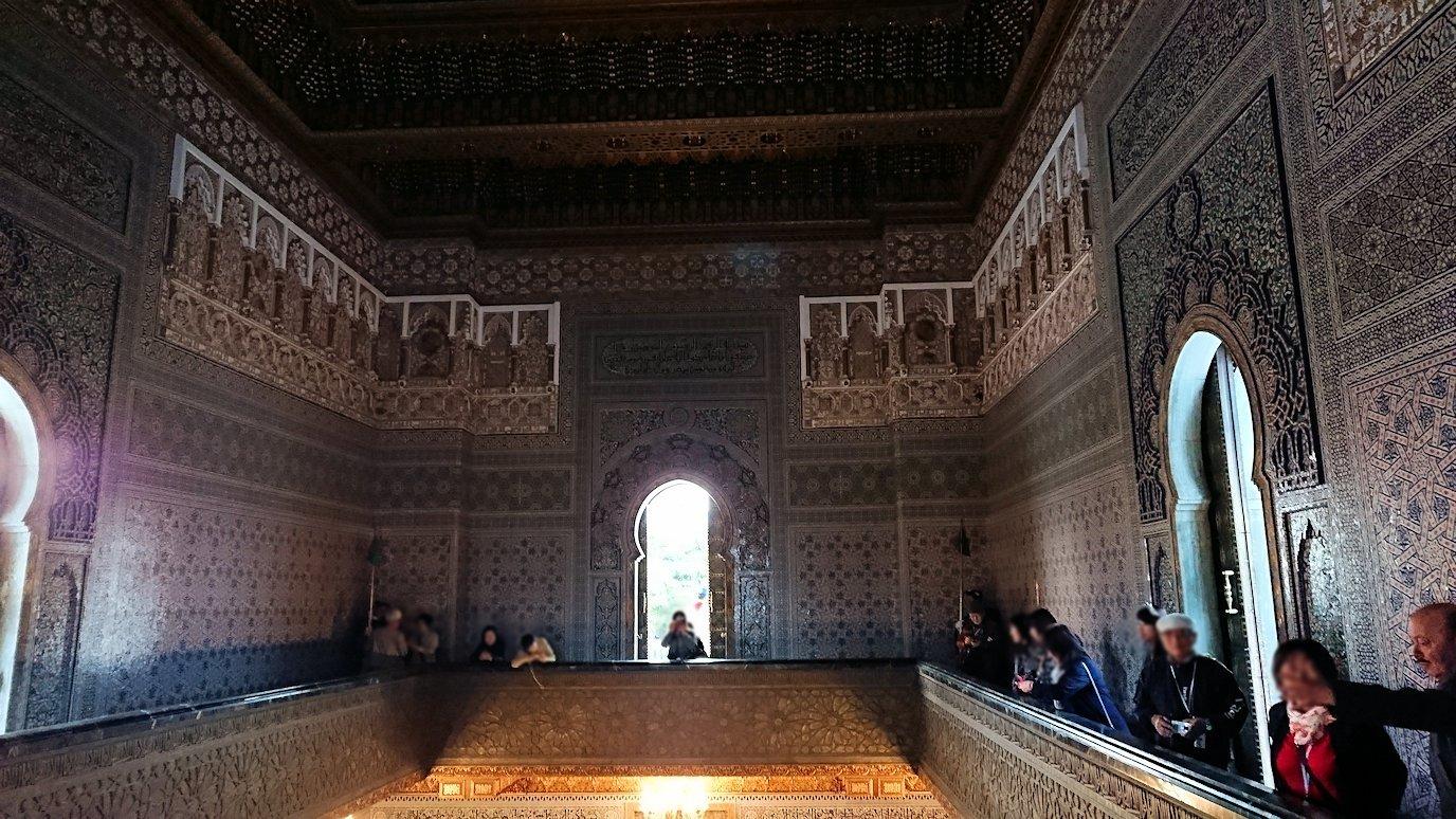 ラバトのムハンマド5世霊廟にの中の様子2