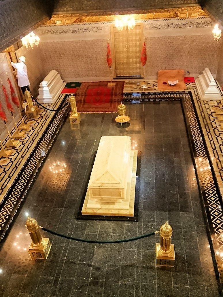 ラバトのムハンマド5世霊廟にの中の様子3
