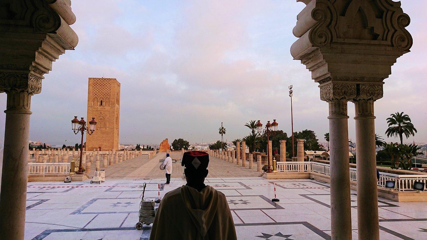 ラバトのムハンマド5世霊廟にの中の様子5