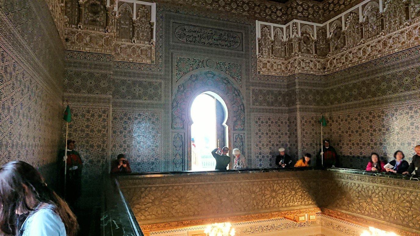 ラバトのムハンマド5世霊廟の中の景色3