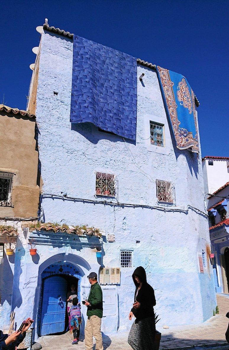 青い街シャウエンで青い壁の理由を探して街を歩く4