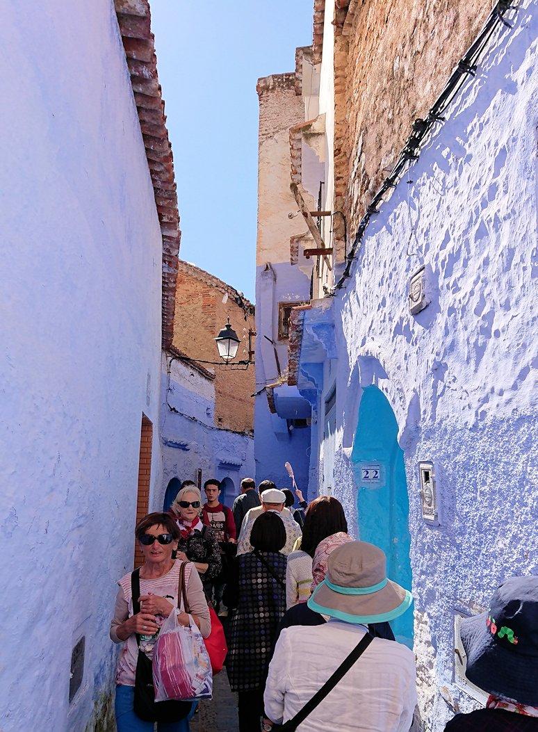 青い街シャウエンで青い壁の理由を探してみた景色3