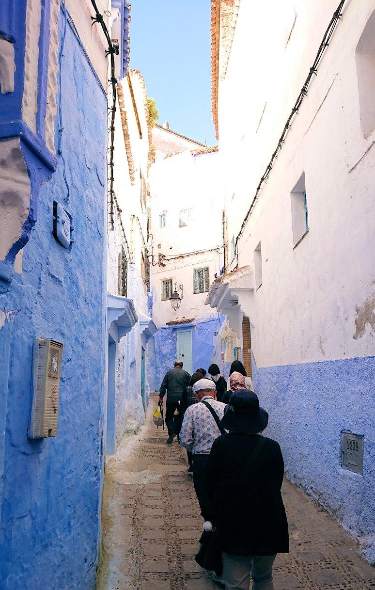 青い街シャウエンで青い壁の理由を探してみた景色4